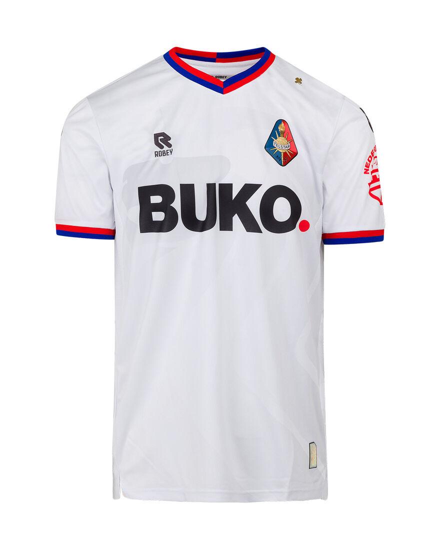 Telstar Home Shirt SS 21-22 BUKO, White, hi-res