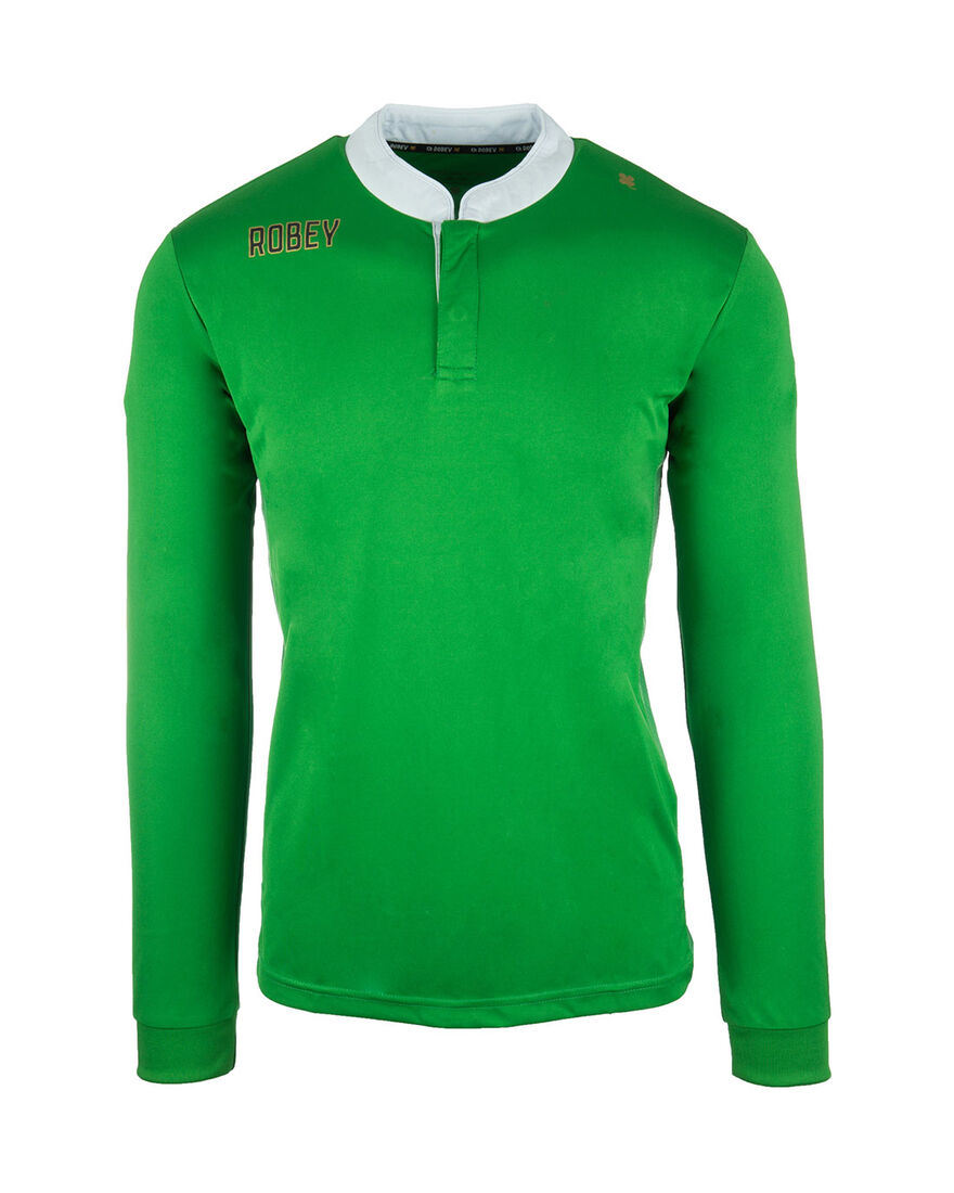 Shirt Kick-Off LS, Green, hi-res