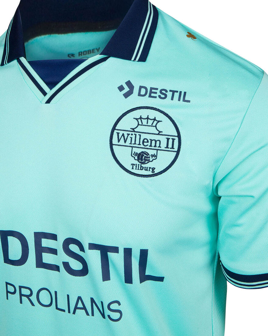Willem II Match Shirt 20/21 SS, Mint, hi-res