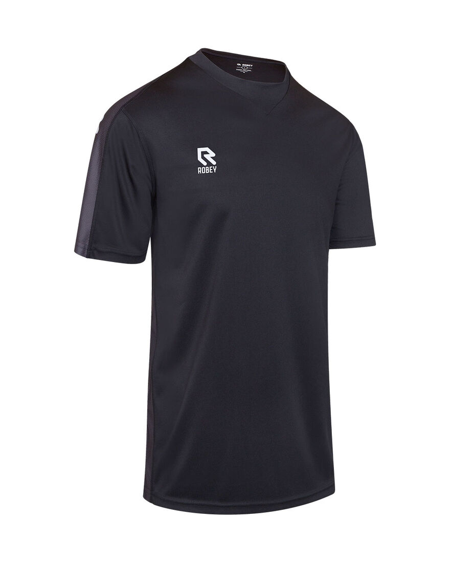 Performance Shirt, Black/Grey, hi-res