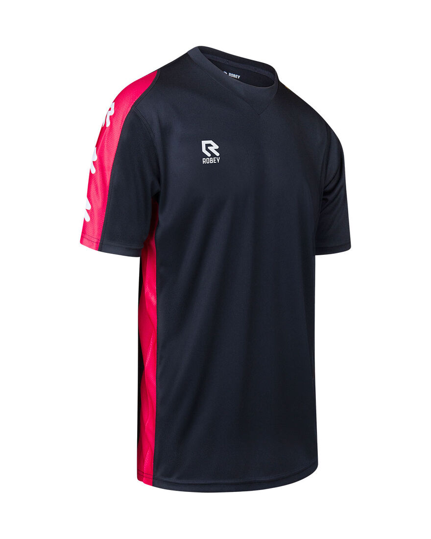 Performance Shirt, Black/Red, hi-res