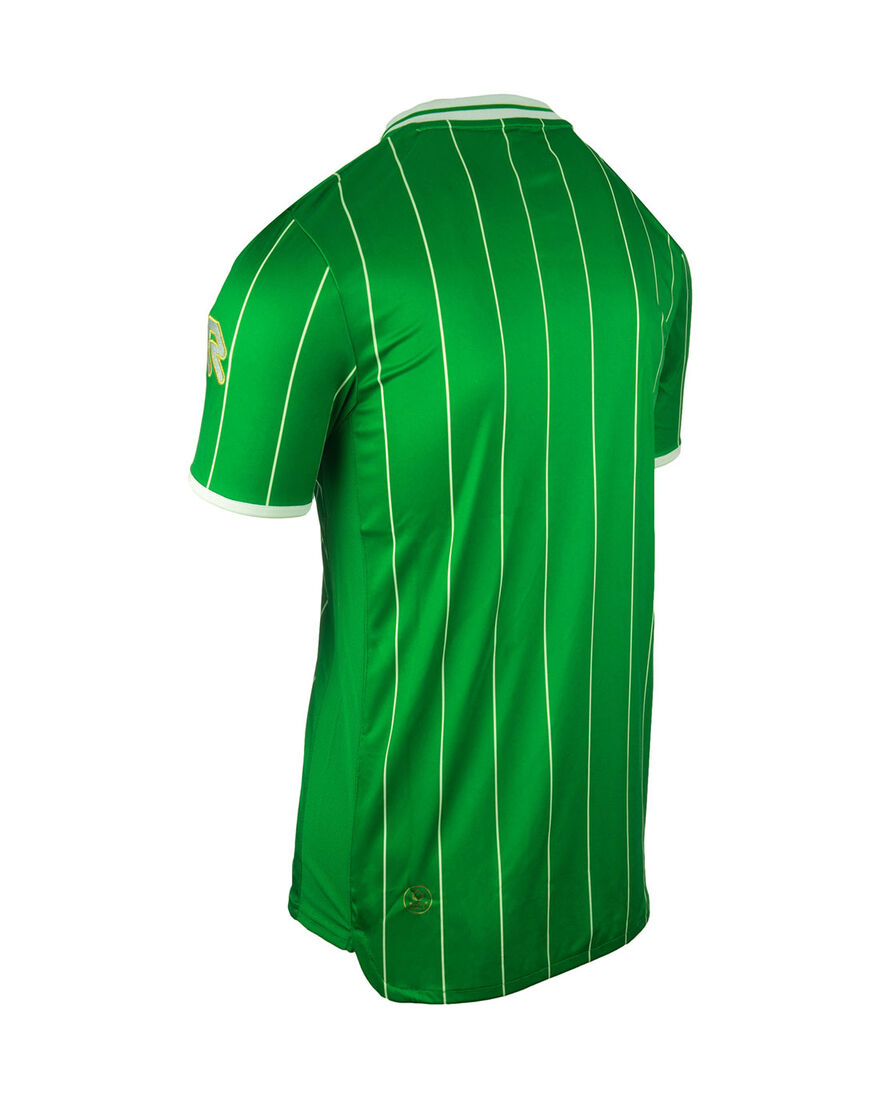 Shirt Pinstripe SS, Green, hi-res