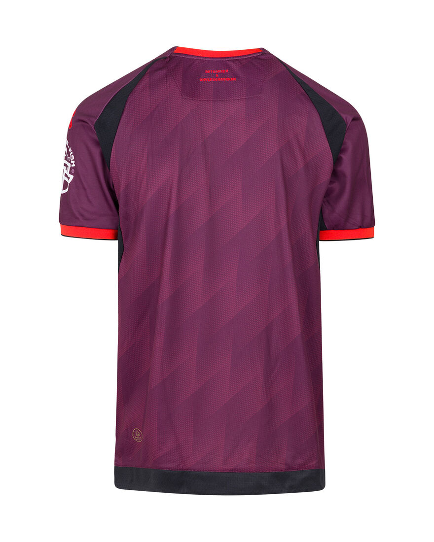 Telstar Away Shirt SS 21-22 BUKO, Burgundy, hi-res