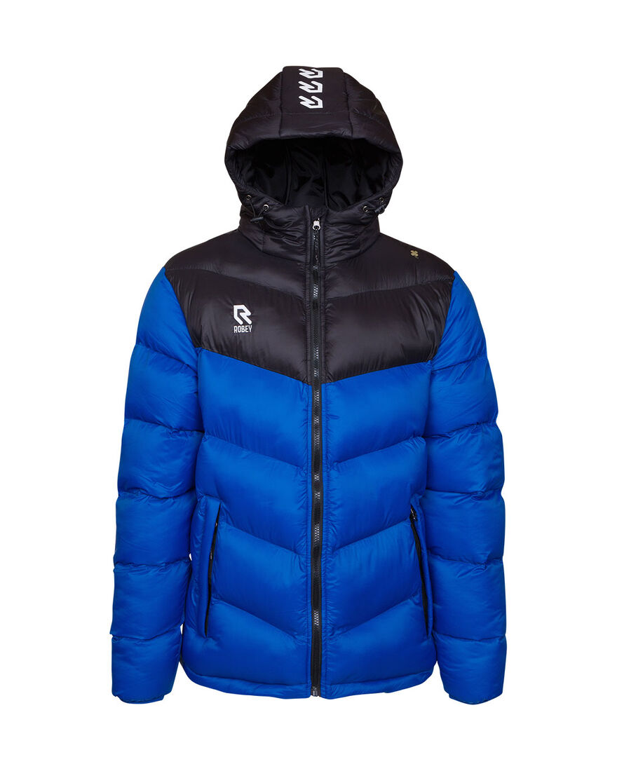 Performance Padded Jacket, Royal Blue/Black, hi-res