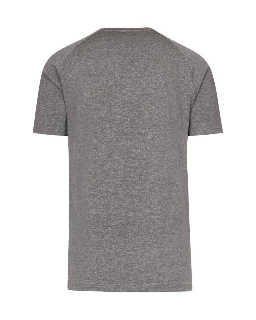 Gym Shirt, Grey Melange, hi-res