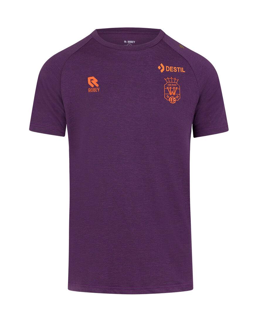 Willem II Polo Tech 21/22, Purple, hi-res